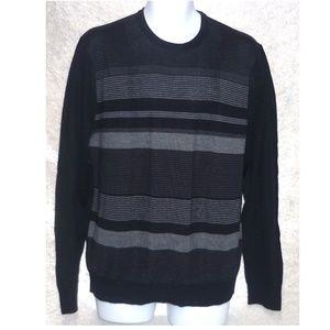 NEW Calvin Klein Men's Sweater Striped size L